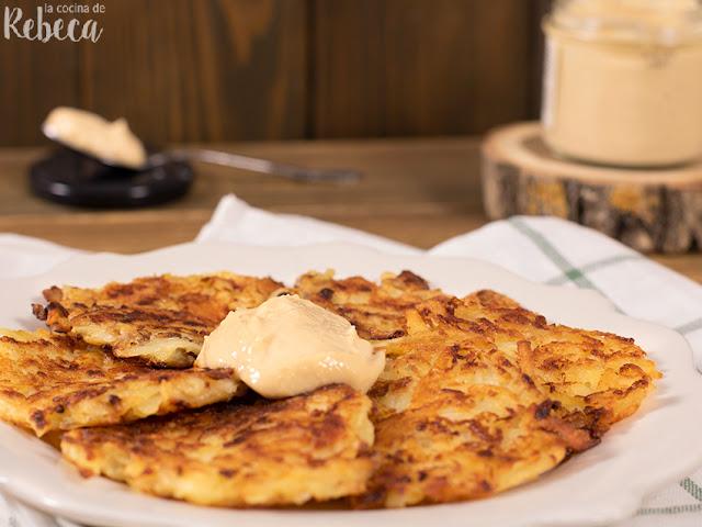 Rosti (tortitas de patata con queso)