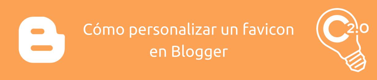 La personalización del favicon dota a los blogs de identidad propia