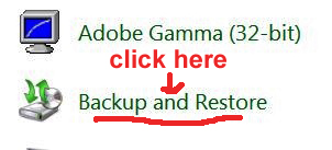 how to back up and restore files in Windows 7
