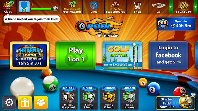 Free 50 Millions 8 Ball Pool Coins