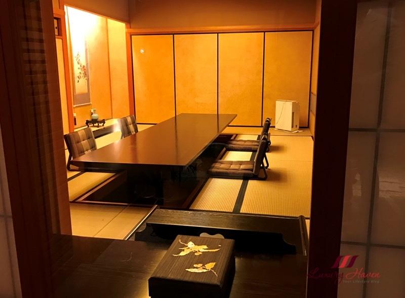 keio plaza hotel japanese restaurant soujuan kaiseki cuisine