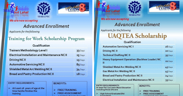 14 Free Training Courses | TWSP & UAQTEA Scholarship Program