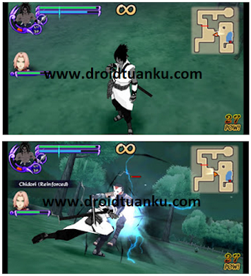 Download Mod Texture Uchiha Sasuke Black Costum