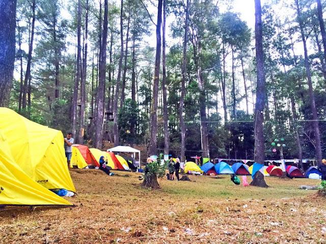 Camping di alam terbuka