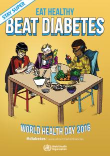 alimentação saudável, diabetes