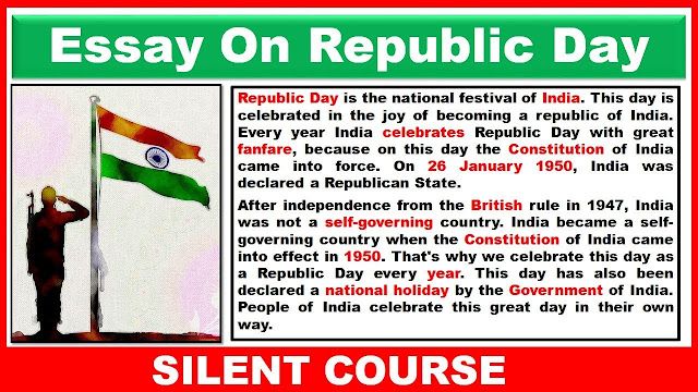Essay On Republic Day In Hindi And English
