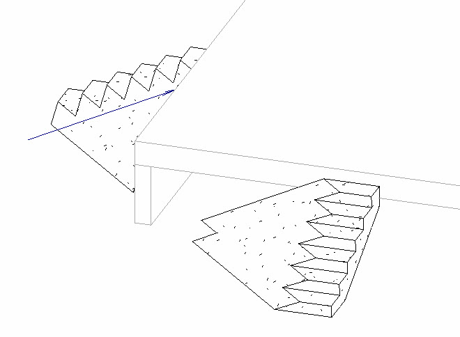 Revit Oped Smooth Or Stepped Stair Setting