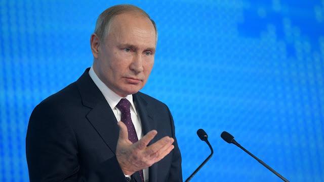 Putin declara que EE.UU. considera el espacio como un teatro de guerra y planea realizar allí operativos militares