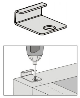 gambar pemasangan papan kayu komposit - 1