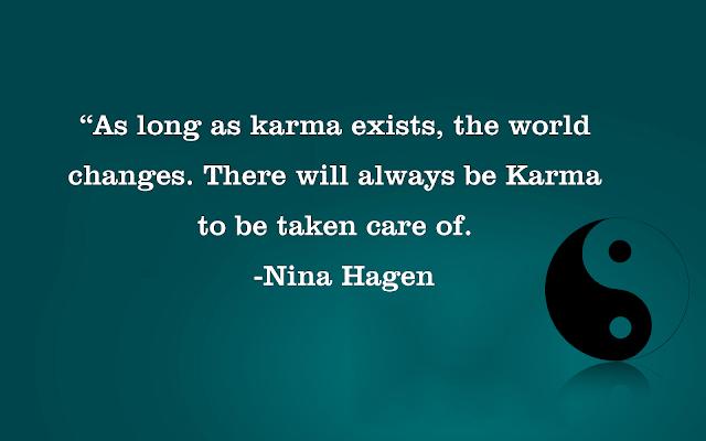 Nina Hagen Karma Quote