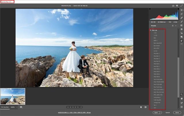 Chia sẻ 160 Preset cực đẹp cho Lightroom và Camera Raw