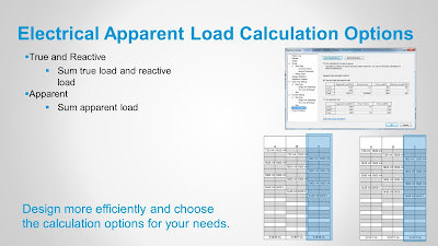 Electrical Apparent Load Calculation Options in Revit 2017