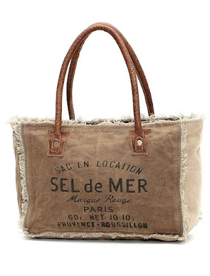 Top Ten Myra Sel De Mer Canvas Totes