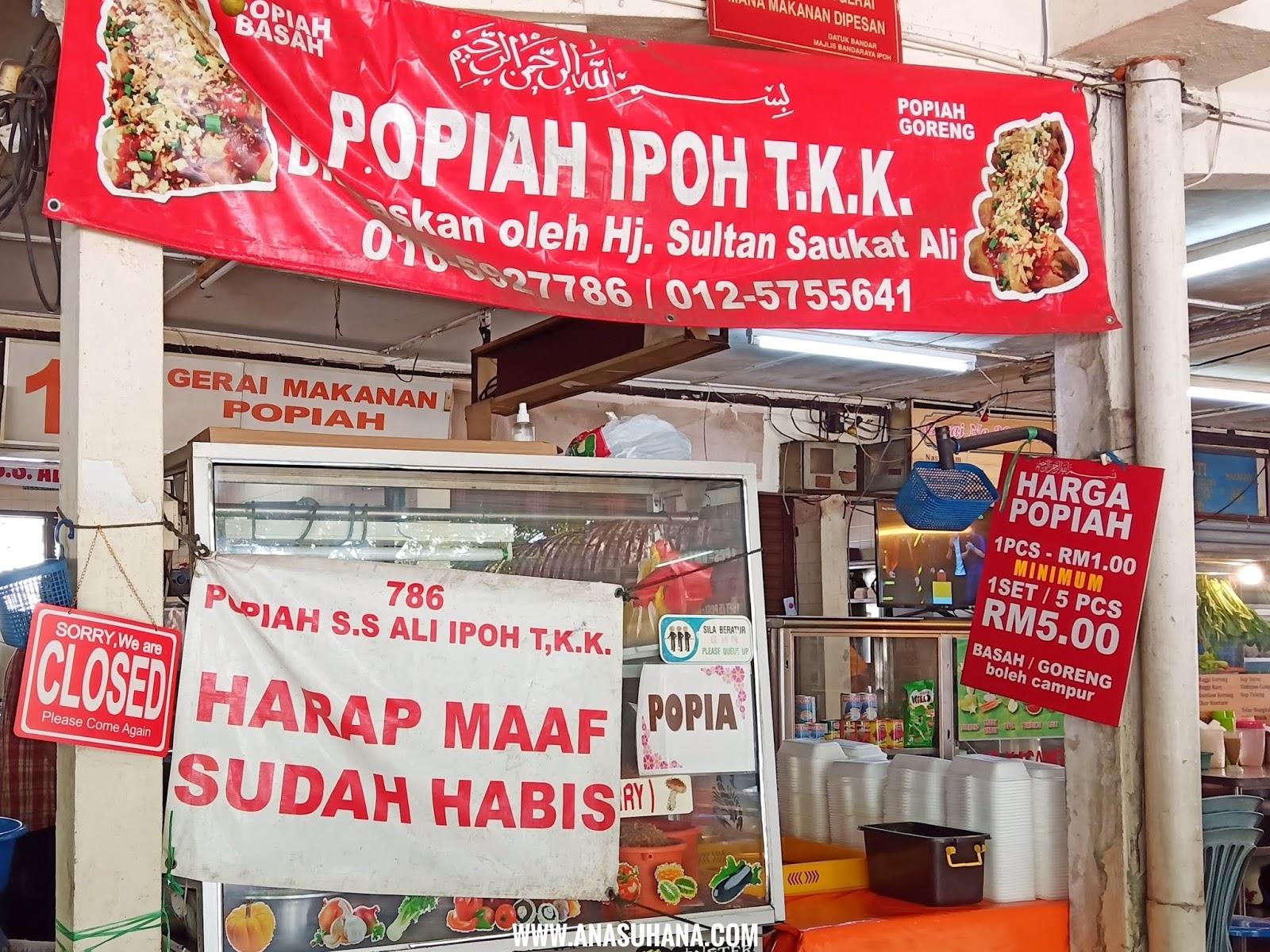Popiah SS Ali Popiah TKK Ipoh