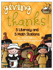 http://www.teacherspayteachers.com/Product/Thanksgiving-Stations-10-Literacy-and-Math-Stations-963532