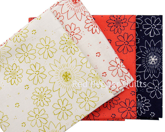 Paper Bandana by Alexia Abegg for Cotton + Steel | Red Pepper Quilts