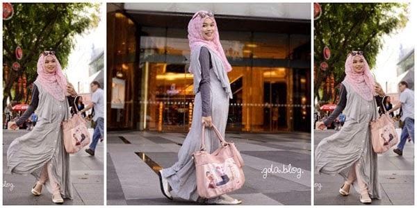 Model Baju Muslim Ibu Hamil Modern Terbaru