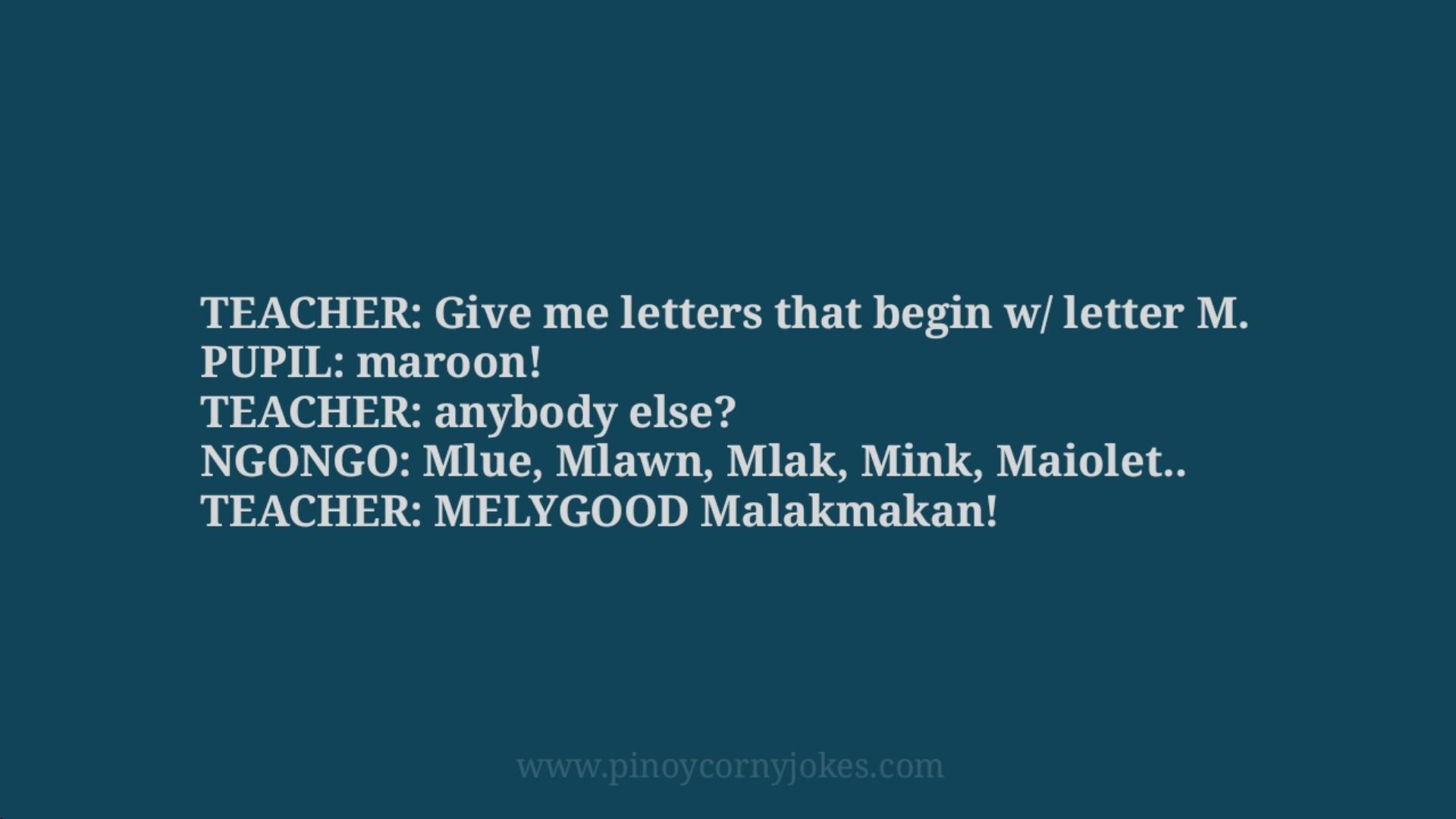 maroon pinoy student jokes