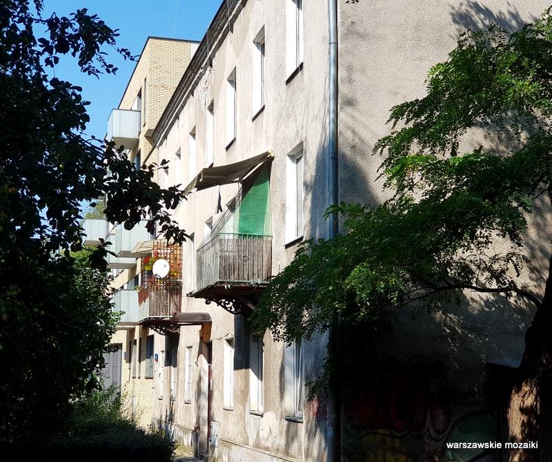 Warszawa Warsaw Praga Północ kamienica architektura architecture bruk zabytkowa przedwojenna