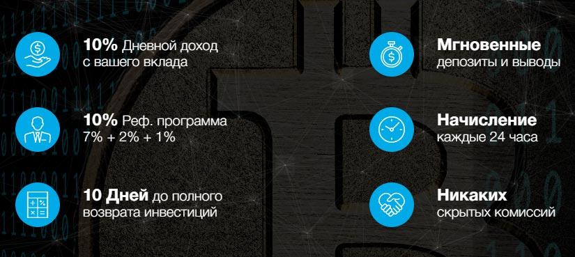 Инвестиционный план BitBIOS