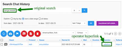 original search