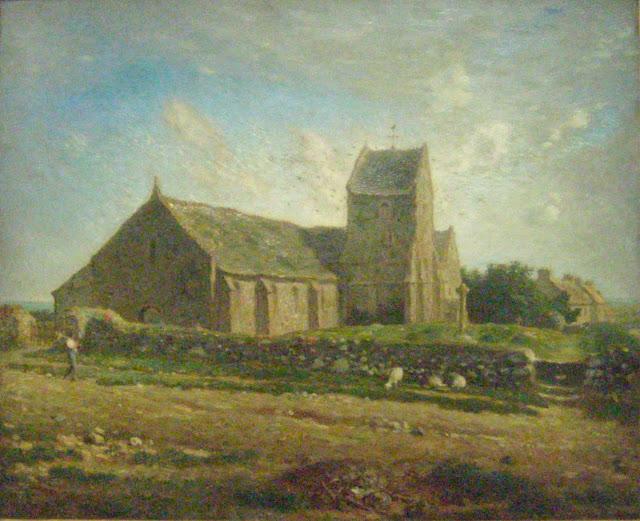 Жан Франсуа Милле - Церковь Гревилля