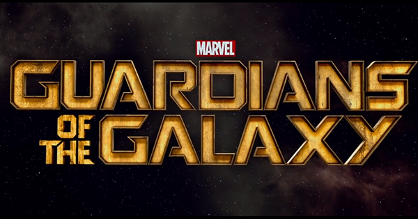 Marvel Guardians of the Galaxy title