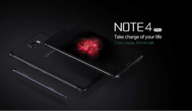موصفات Infinix Note 4 Pro بسعر منخفض + رابط الشراء