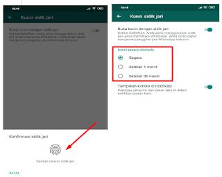 Sebelumnya untuk fitur kunci aplikasi whatsapp dengan sensor sidik jari atau yang dikenal  √  Fitur Terbaru Whatsapp Fingerprint, Begini Cara Mengaktifkannya