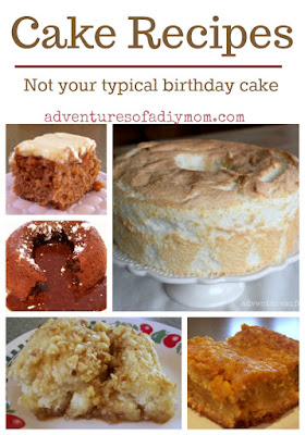 Cake Recipes Collage