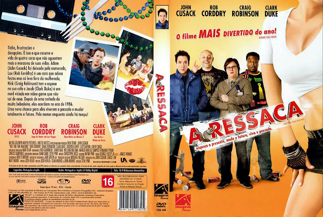 Capa DVD A Ressaca