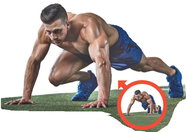 BEAR DOWN .. Bear position will give you a beastly core