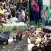 Alcalde Tavito Suberví arrecia en barrios y sectores con operativos de limpieza, reparto de agua potable y entrega de canastillas a mujeres embarazas..