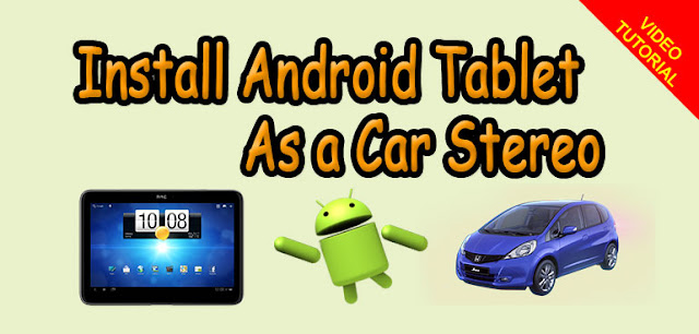 Tablet as Car Stereo