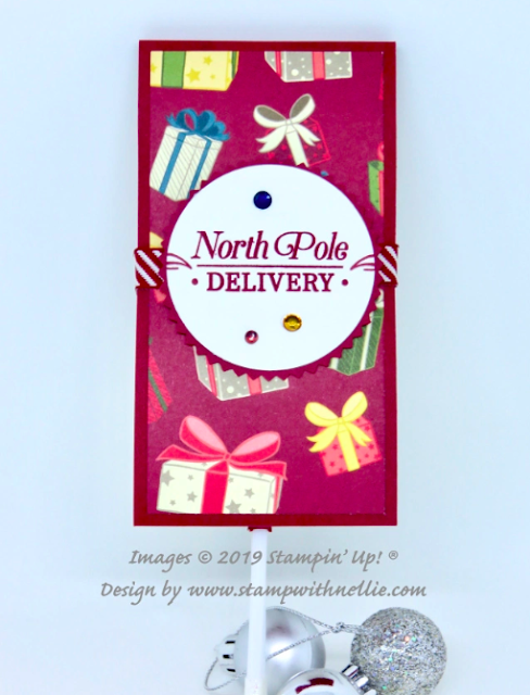 Nigezza Creates with Stampin' Up! and Nellies Hobbies and A Night Before Christmas