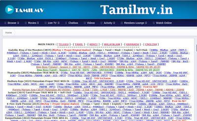 Tamilmv.in Tamil Telugu Movies Download- Tamilmv.in