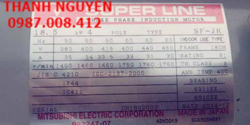 Motor giảm tốc Super line mẫu mới giá rẻ, hàng chính hãng