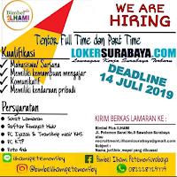 Lowongan Kerja Surabaya Terbaru di Bimbel Plus Ilhami Juni 2019