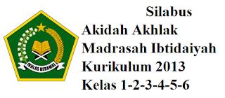 Silabus Akidah Akhlak Madrasah Ibtodaiyah Kelas 1,2,3,4,5,6