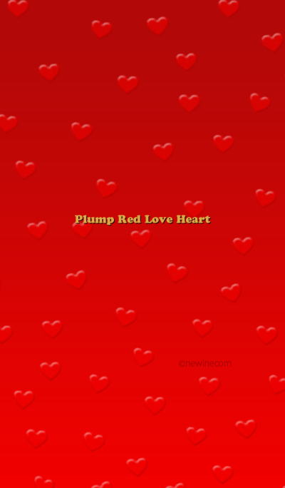 Plump Red Love Heart