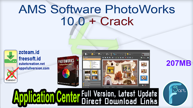 AMS Software PhotoWorks 10.0 + Crack_ ZcTeam.id
