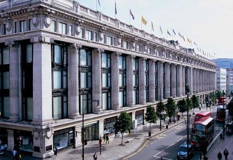 Lojas de departamento em Londres