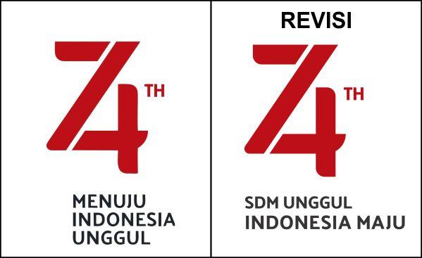 Download Logo Resmi Hut Ri Ke 74 Vector Cdr Idn Grafis