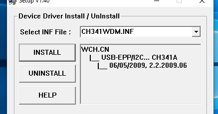 How To Install The CH431A Programmer Driver in Windows - All