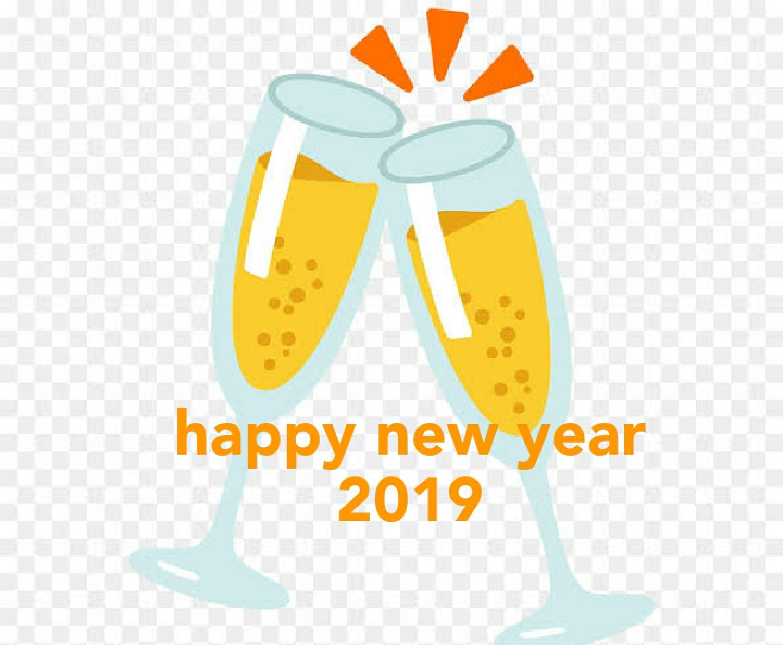 Happy New year 2019 Emoji - Happy New Year