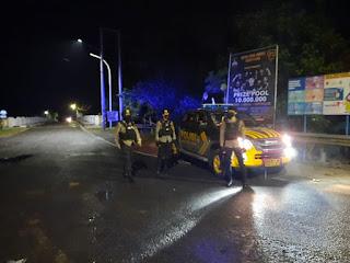 Pantau Situasi Kamtibmas Satuan Sabhara Polres Enrekang Laksanakan Patroli Biru