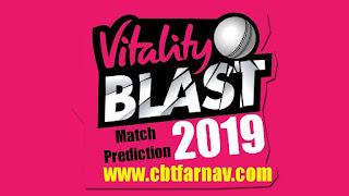 English T20 Nottinghamshire vs Lancashire Vitality Blast Match Prediction Today