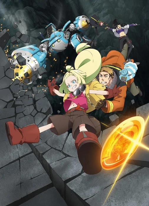 Imagen promocional del anime Sacks&Guns!! (Sakugan)