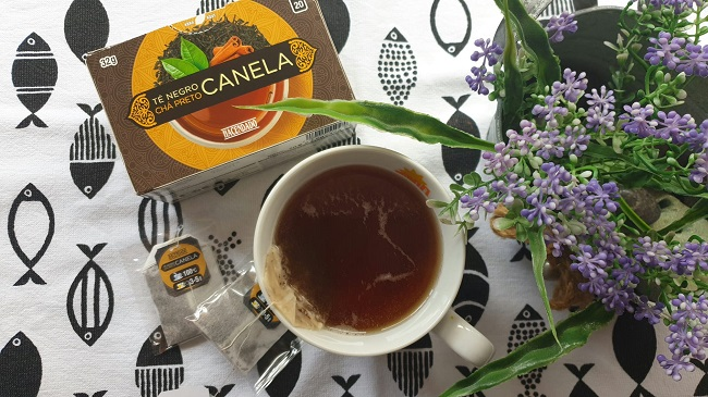Infusiones y tés de Mercadona: Té negro Canela