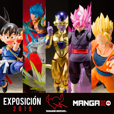 Abiertas las reservas de las figuras exclusivas del Dragon Ball World Adventure 2019.